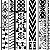 Tribal striped seamless pattern. vector illustration