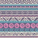 Tribal striped seamless pattern. Stock Photos