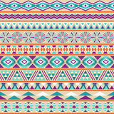 Tribal striped seamless pattern. Stock Photo