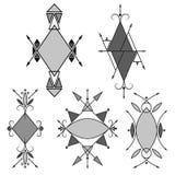 Tribal style. Geometric frame. Stock Photography