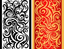 Tribal swirls Stock Photo