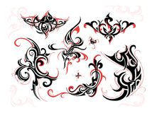 Tribal swirls Royalty Free Stock Image