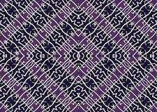 Tribal Symbol Motif Geometric Seamless Pattern Royalty Free Stock Images