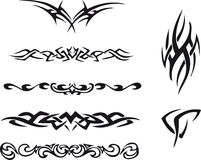 Tribal tattoo Stock Photo