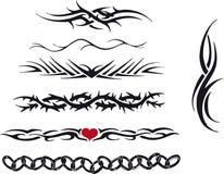 Tribal tattoo royalty free stock photos