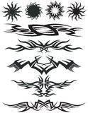 Tribal Tattoo Art Stock Photography
