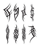 Tribal Tattoo art Stock Images