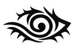 Tribal tattoo design Stock Image