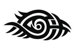 Tribal tattoo design Stock Photo