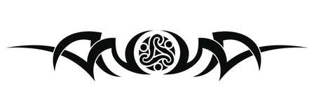 Tribal tattoo design Stock Photos