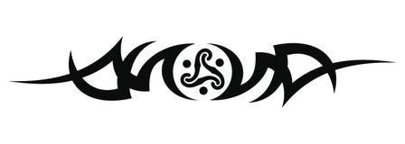 Tribal tattoo design Royalty Free Stock Photography