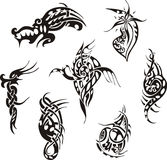 Tribal tattoo designs Royalty Free Stock Photography