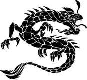 Tribal Tattoo Dragon Stock Image