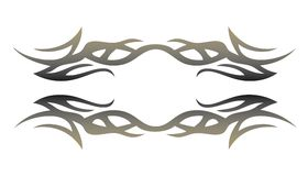 Tribal Tattoo Element For Design Royalty Free Stock Photos