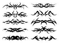 Tribal tattoo pack Royalty Free Stock Images