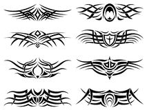Tribal Tattoo Pack Vector Royalty Free Stock Photos