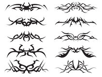 Tribal tattoo pack2 Stock Photography