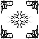 Tribal tattoo pattern Stock Photos