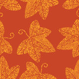 Tribal tattoo pattern. Ivy leaf Royalty Free Stock Photography