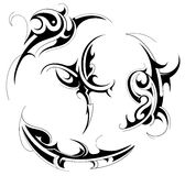 Tribal tattoo set Stock Image