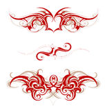 Tribal tattoo Stock Photos
