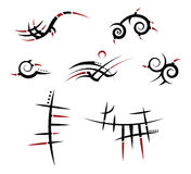 Tribal tattoo Royalty Free Stock Photography
