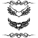 Tribal tattoo set vector Stock Photography