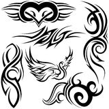 Tribal Tattoos Royalty Free Stock Photos