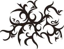 Tribal tentacles. Tribal tattoo Royalty Free Stock Photos