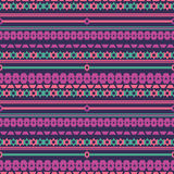 Tribal texture geometric seamless  pattern. Vector illustration. Geometric pattern design for web, mobile and print Stock Photo