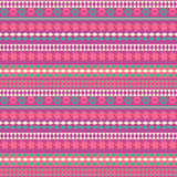 Tribal texture geometric seamless pattern. Vector illustration. Geometric pattern design for web, mobile, print and textile Royalty Free Stock Photos