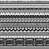 Tribal texture. Seamless tribal texture vector illustration royalty free illustration