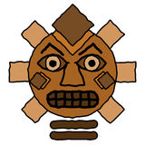 Tribal Totem Design Royalty Free Stock Photos