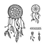 Tribal vector elements collection Stock Image