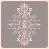 Tribal vector ethnic Mexican,  African ornament Royalty Free Stock Photography