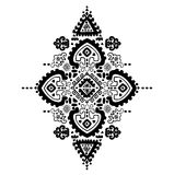 Tribal vector ethnic Mexican,  African ornament Stock Photos