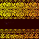 Tribal vector ethnic Mexican,  African ornament Stock Photo