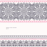 Tribal vector ethnic Mexican,  African ornament Stock Photography