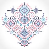 Tribal vector ethnic ornament. Royalty Free Stock Images