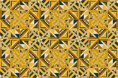 Tribal vector ornament. Seamless African pattern. Ethnic design on the carpet. Aztec style. Tribal vector ornament. Seamless African pattern. Ethnic carpet with Royalty Free Stock Image