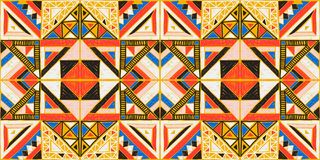 Tribal vector ornament. Seamless African pattern. Ethnic design on the carpet. Aztec style. Tribal vector ornament. Seamless African pattern. Ethnic carpet with vector illustration