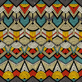Tribal vector pattern Royalty Free Stock Photos