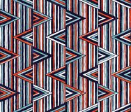 Tribal vector pattern. Seamless hand-drawn background. EPS 10 Stock Photography