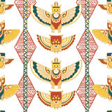 Tribal vector pattern Royalty Free Stock Images