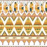 Tribal vector pattern Royalty Free Stock Photo