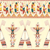 Tribal vector pattern Stock Photography