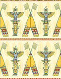 Tribal vector pattern Stock Image