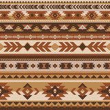 Tribal vector seamless pattern. Aztec geometric Royalty Free Stock Images