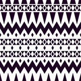Tribal vector texture. Geometric plaid pattern. Stock Photo