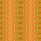 Tribal vintage abstract geometric ethnic seamless pattern ornamental. Indian striped textile design stock illustration